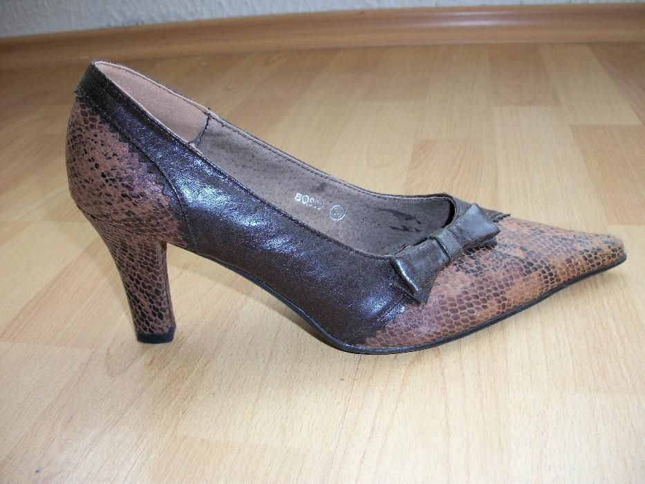 Запазени качествени дамски обувки