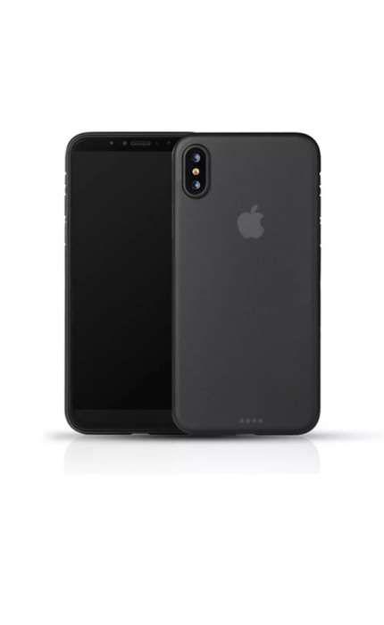 Husa ULTRA SLIM 0,2mm Negru Mat iPhone 7, 7 Plus, 8, 8 Plus si X