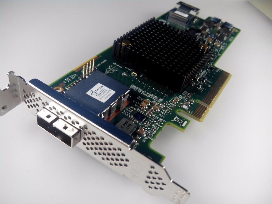 Нов контролер LSI SAS9207-4i4e 6Gb/s 8 канала SAS SATA SAS2308 H222