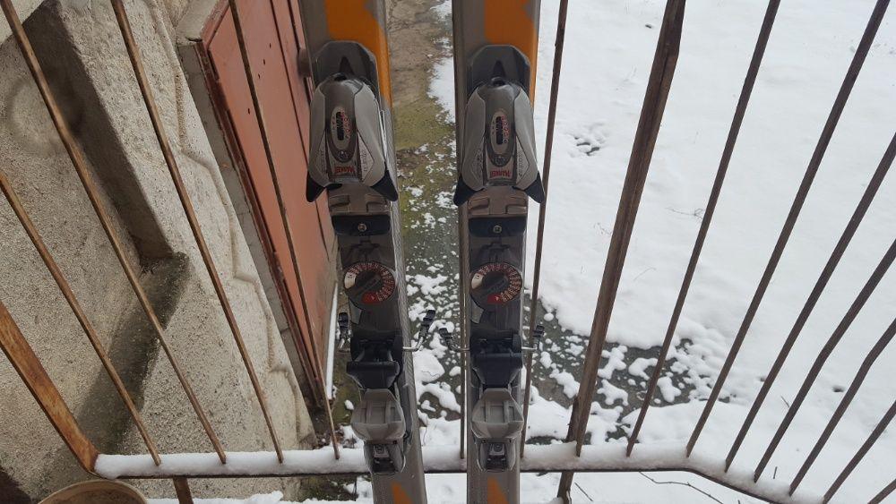 Schiuri Nordica GranSport S7 160 cm & legaturi Marker M900 EPS