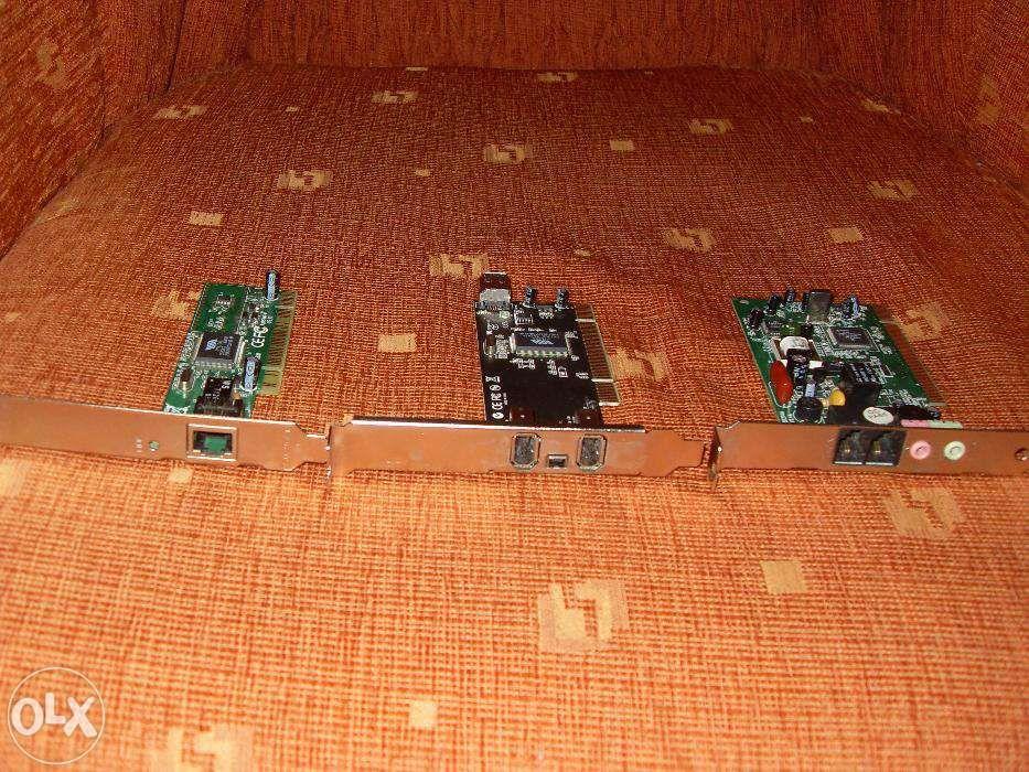placa video ,retea ,modem