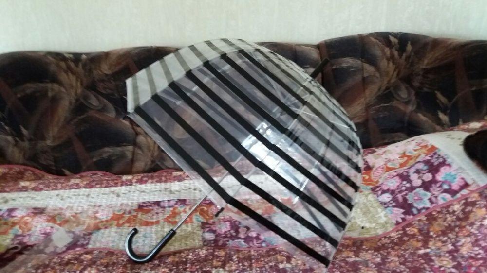 Зонт трость новый модный принт