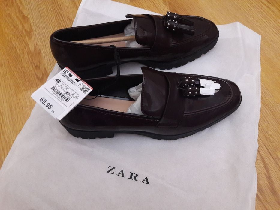 Дамски мокасини Zara