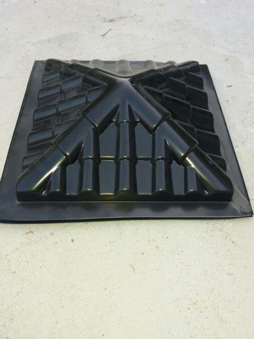 Matrita/ forma palarie-capac gard/stalp termoformata