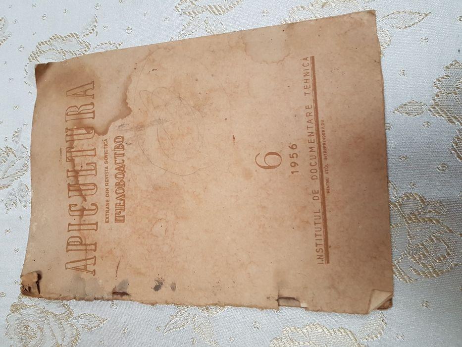 """Carte veche apicultură 1956 - extrase din revista sovietică """""""