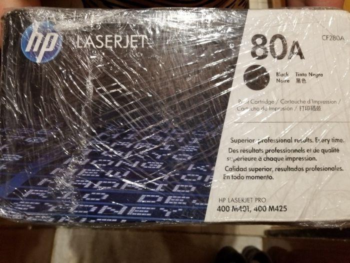 Продавам тонер касета за лазерен принтер Хюлет Пакър 80 А
