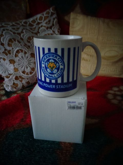 уникални чаши на Лестър за фенове хубав подарък