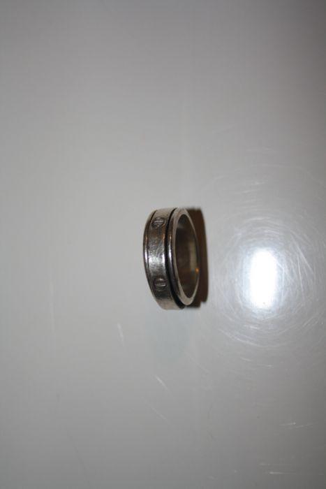 Inel argint model inel pe inel rotativ antistres