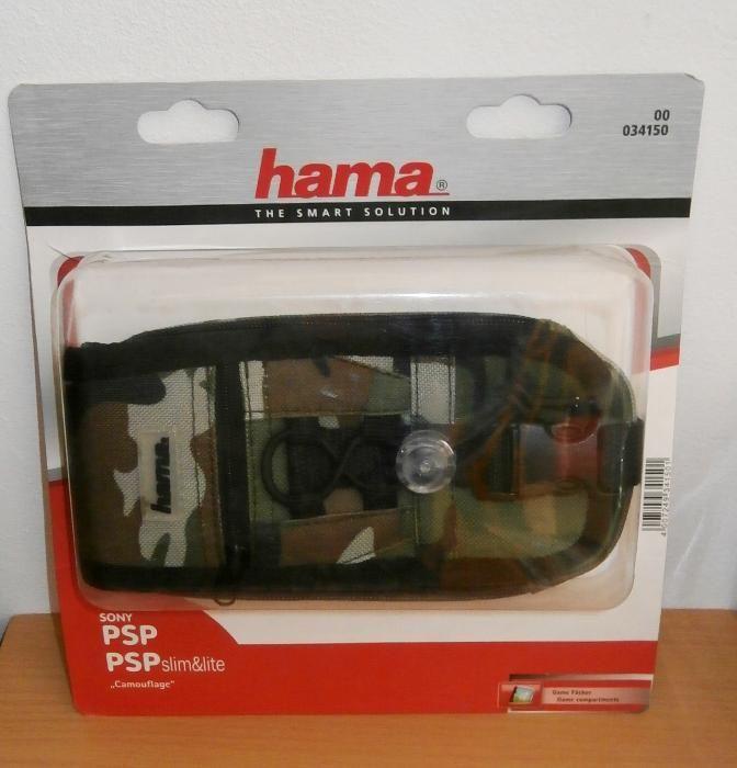 Husa consola portabila ( Playstation PSP ,Nintendo 3DS ), camuflaj