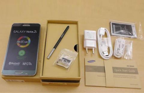 Samsung Galaxy Note 3 Novos na caixa