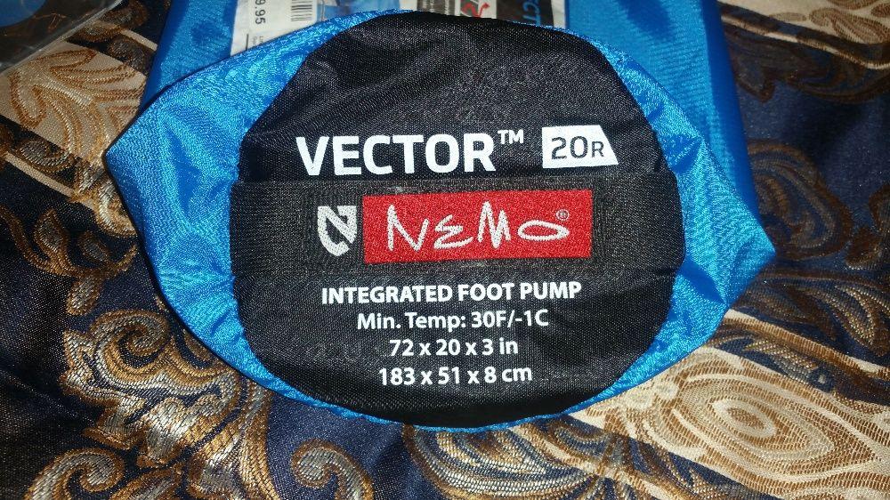 Saltea gonflabilă sleeping pad NEMO VECTOR 20R