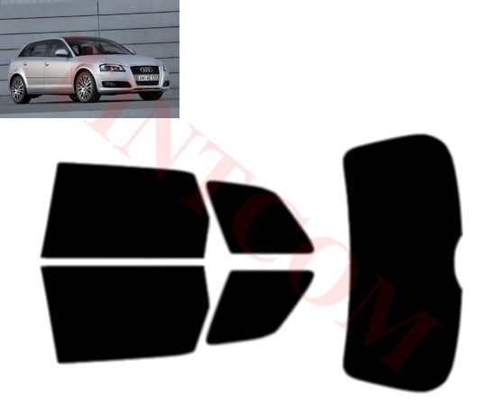 Audi A3 (5 врати, хечбек, 2008 - 2012)- Фолио за затъмняване на стъкла
