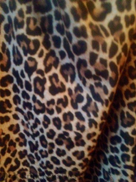 Ефектна тигрова рокля