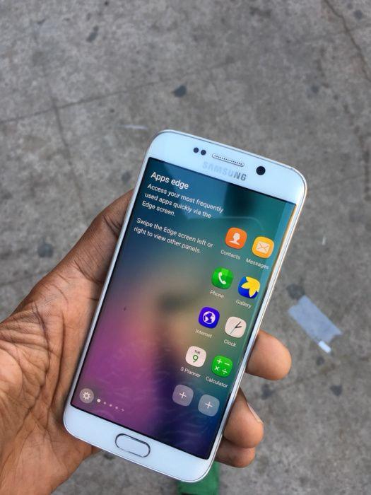 Samsung galaxy s6 edje cor branca com garantia