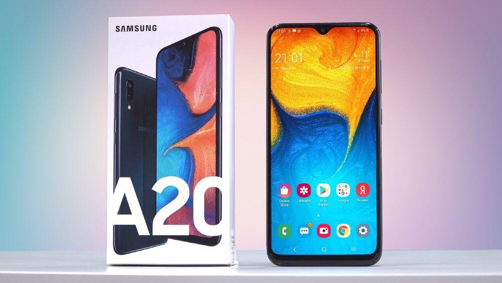 Samsung A20 32GB/novo na caixa!