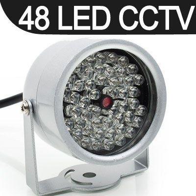 Reflector iluminator infraroșu Night Vision 48 LED IR