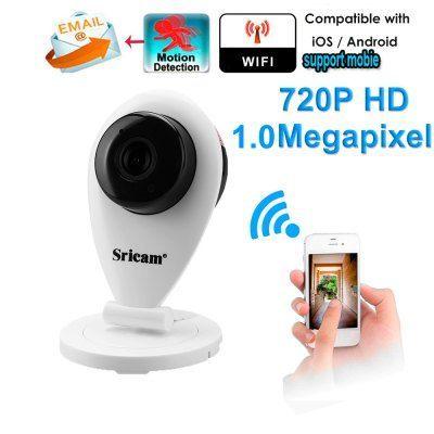Camera IP SRICAM SP009 WIFI 720P H.264 ONVIF interior