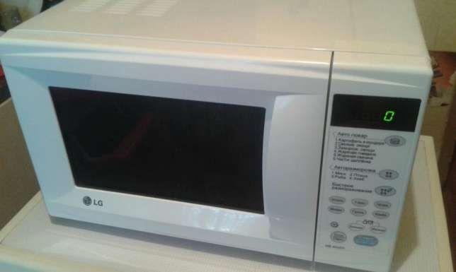 Микроволновка LG сенсорная (микроволновая печь)