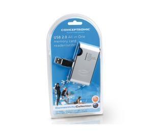 Leitor de Cartões - tudo-em-1 USB 2.0 Concetronic