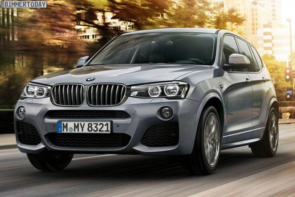Dezmembrez BMW X3 F25 2.0d 3.0d X-Drive 2016 M-Pachet