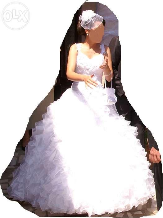 rochie mireasa Andre nicolas + voaleta