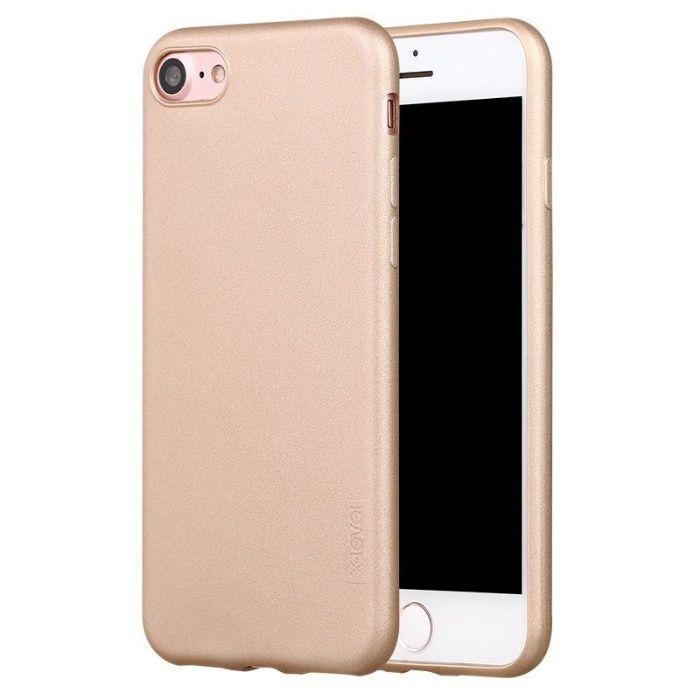 Husa Ultra Slim iPhone 7Plus,8 Plus Gold / Rose Gold