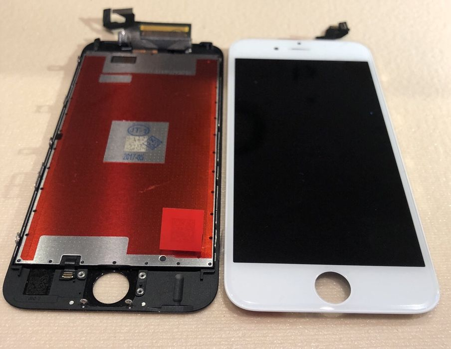 Ansamblu Display Nou iPhone 6s - Montaj-Garantie- Geam-Sticla X 8 7 6