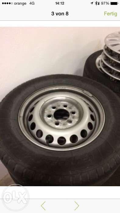 Roti,jante,anvelope 235/65/16c , Sprinter Crafter VW,import Germania