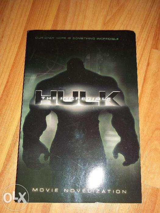 The Incredible Hulk - carte in limba engleza