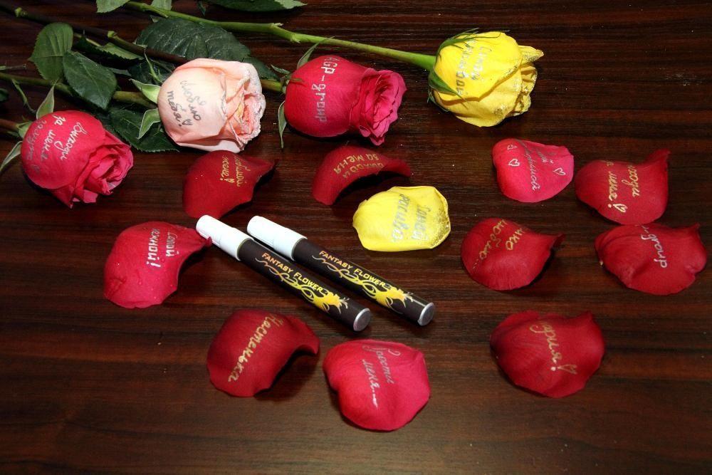 Продам лак для нанесения надписей на цветы (розы)