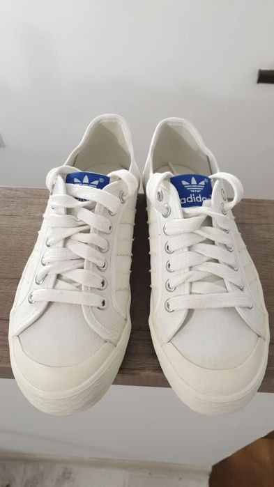 Adidas Originals Canvas All White mărime 38