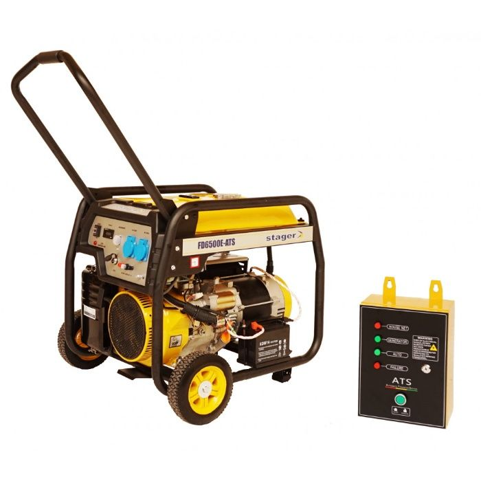 Generator open frame Stager FD 6500E+ATS - Automatizat Putere 5kW