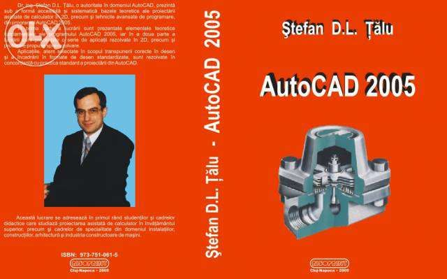 """cartea """"AutoCAD 2005"""""""