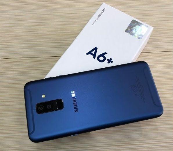 Samsung A6 Plus/celulares novos na caixa.