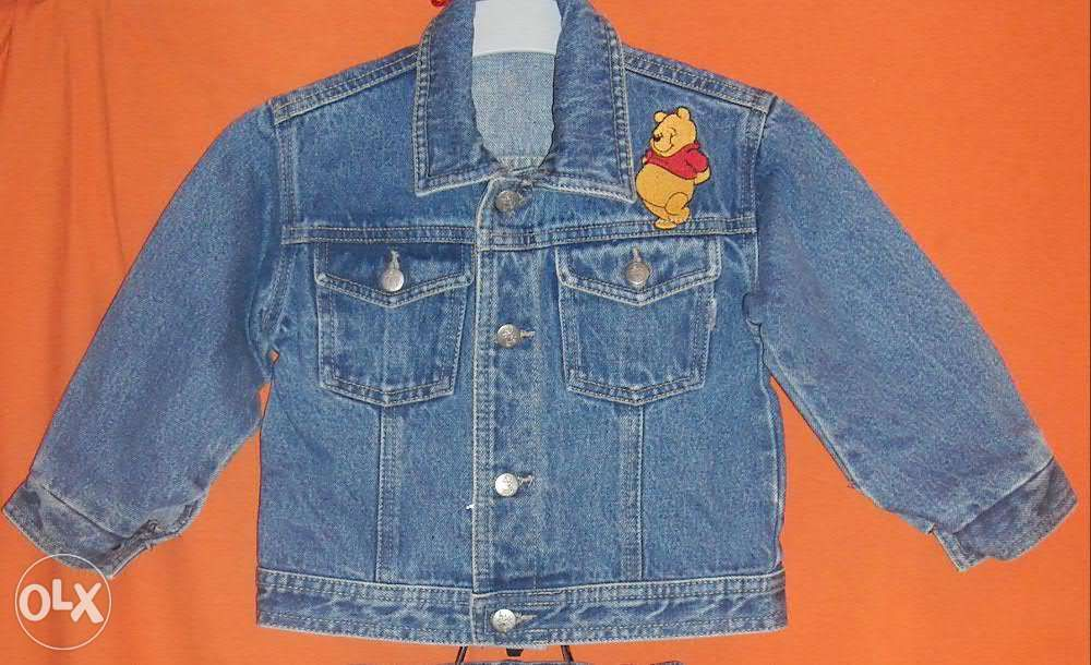 Geaca / jacheta blugi pt copii 2-3 ani (Pret Negociabil)