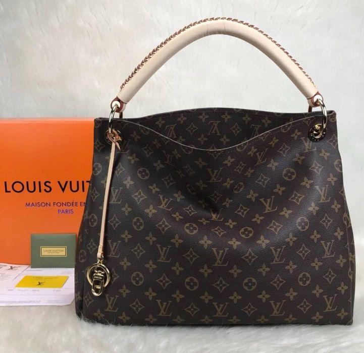 Louis Vuitton/piele naturală nu ecologică!bon fiscal, certificat auten