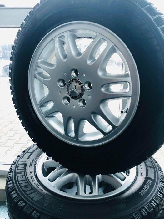 Set Jante Mercedes Vito R16 cu Anvelope Iarna Michelin 215/65 R16C