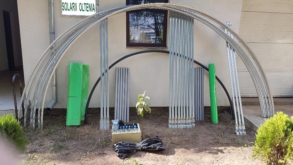 Solar zincat pentru legume