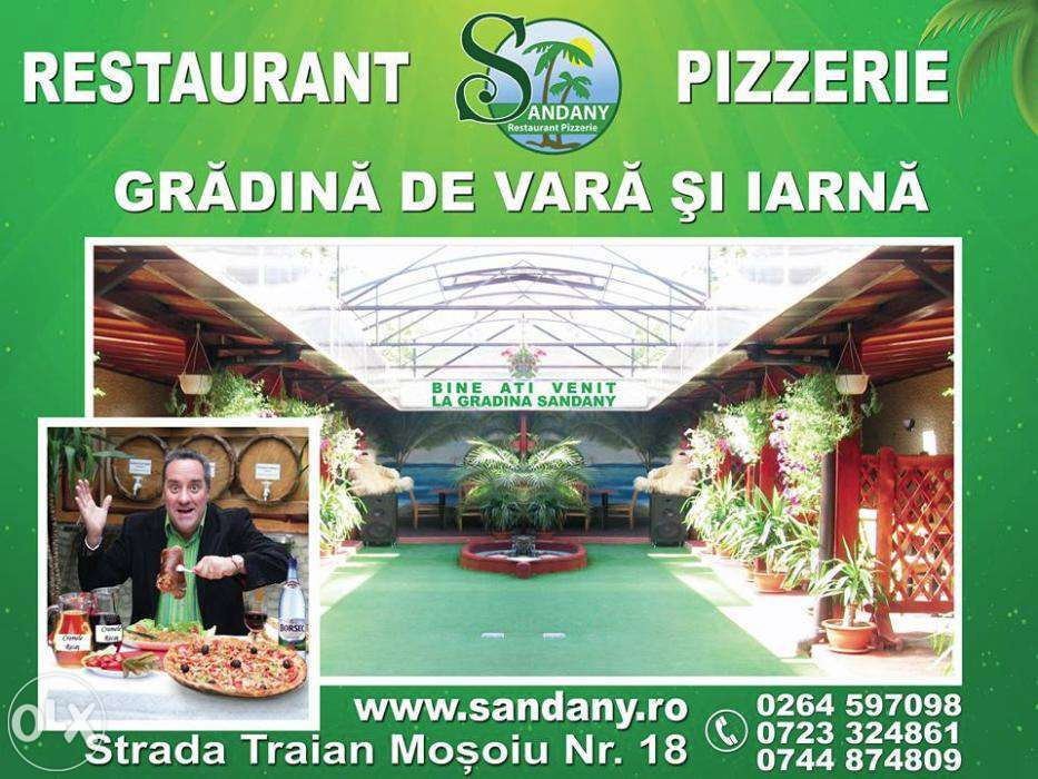 Restaurant Pizzerie Sandany cluj-napoca ofera servicii de catering