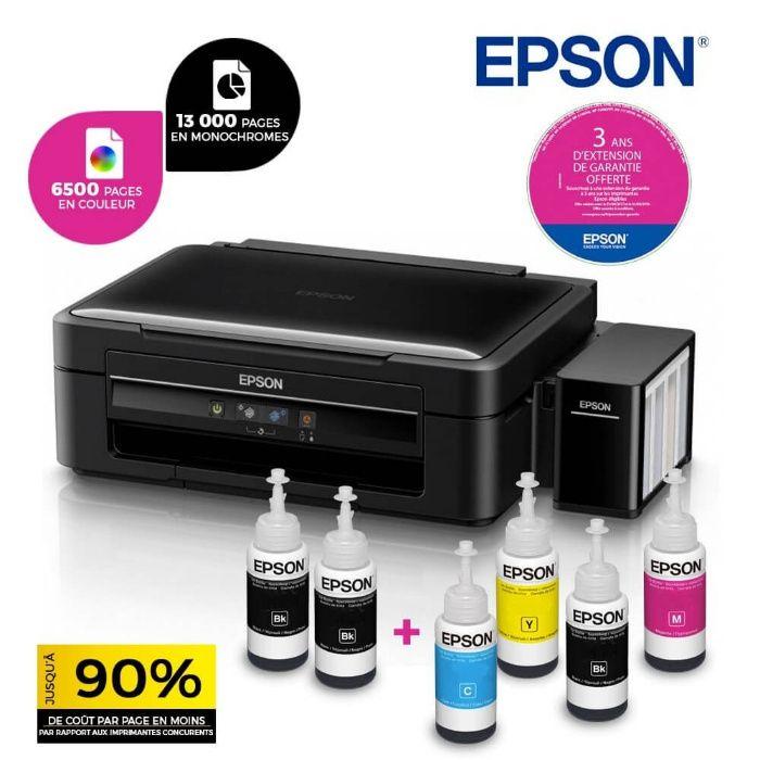 Impressora Epson L382 sistema de tintas