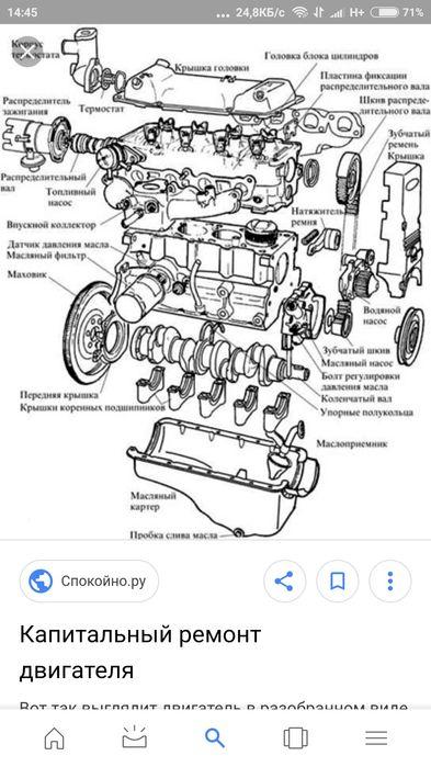 Ремонт двигателей любой сложности, ремонт двигателя, замена цепи грм,