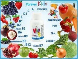 Детский витамин кидс.