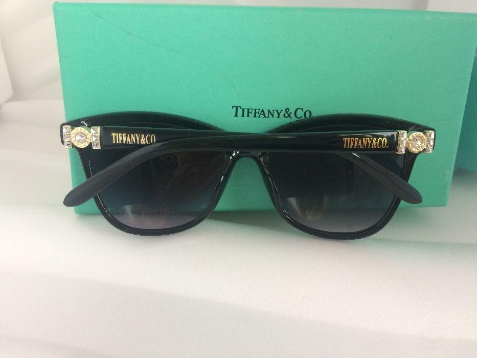Tiffany 2017 с лого дамски слънчеви очила с камъни