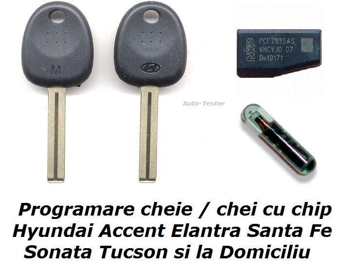Programare chip cheie chei Ford Honda Hyundai Matiz Opel Peugeot Smart
