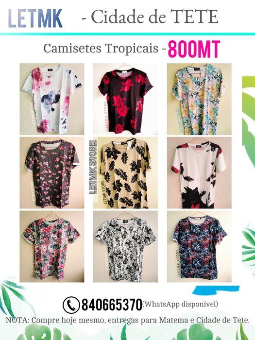 Camisetes Tropicais by LETMK em Tete
