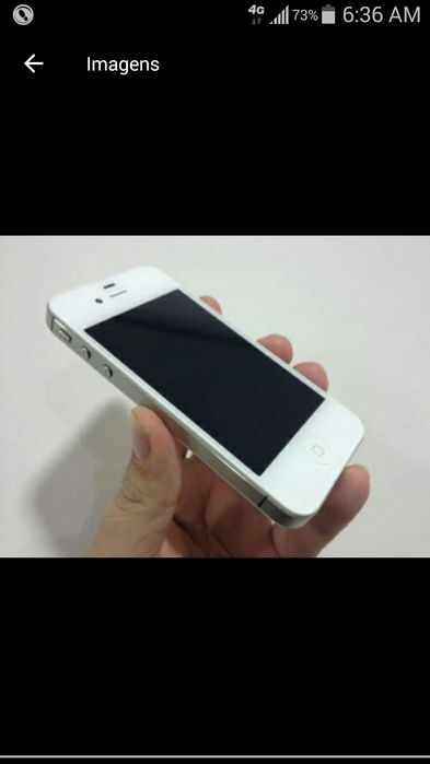 IPhone 4s novo fora da caixa 16 gb