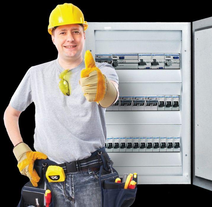 Услуги электрика (качественно, быстро, недорого.)