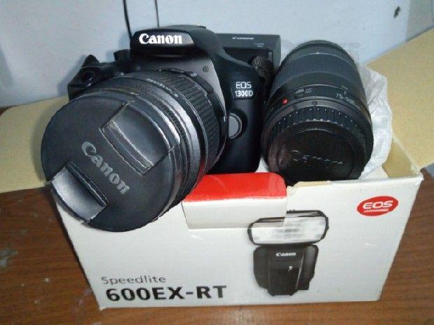 200592dcd42 Máquina Fotográfica Kanon EOS 1300D Tala Hady • olx.co.ao