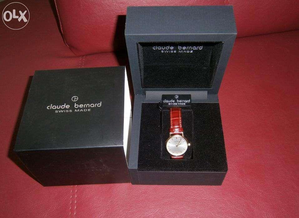 vand\ schimb ceas Claude Bernard,aur, Swiss Made, sigilat, la cutie