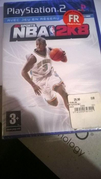 joc NBA2K8 ps2